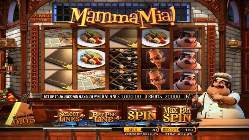 Bitcoin gambling Mama Mia 570261