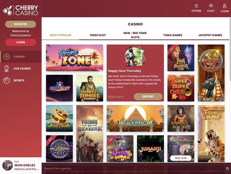 Cherry casino spins 402145