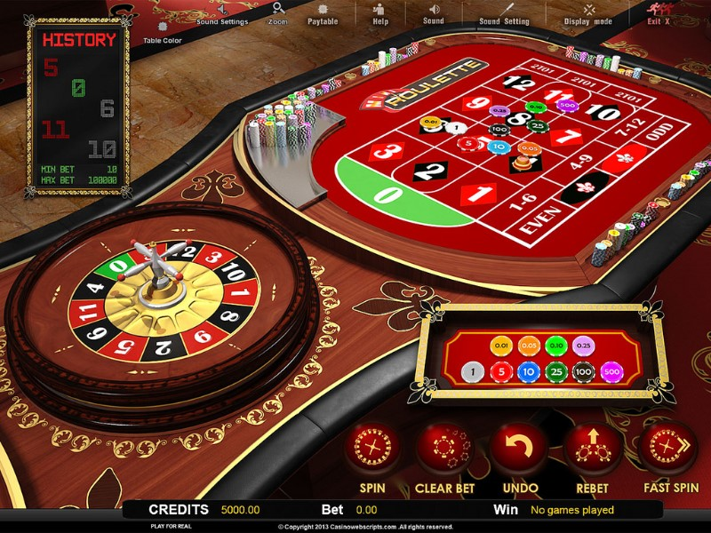 Roulette system 275898