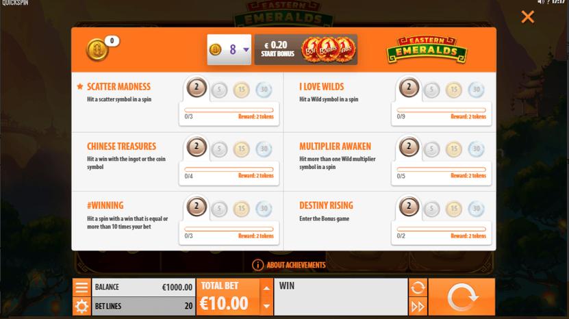 Quickspin achievements recensioner mest 379103