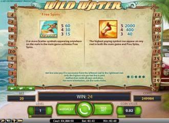 Video Wild Water slot 442754